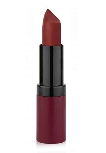 GOLDEN ROSE red and purple VELVET MATTE LIPSTICK - 22 GO743BE05FPQMY_1