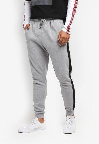Factorie grey Stripe Fleet Trackie 66A3CAA04E304DGS_1