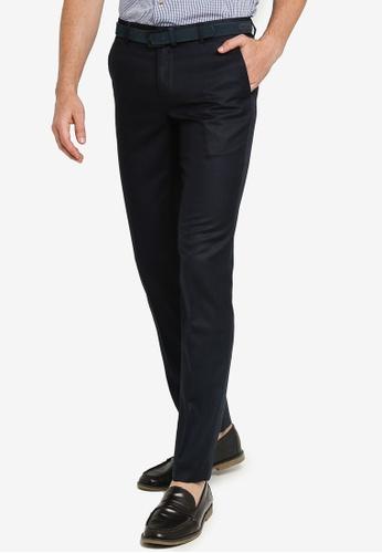 G2000 navy Slim Fit Pants 61072AA6593A69GS_1