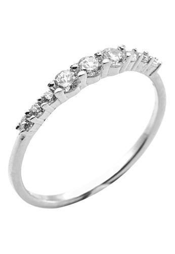 Elfi silver Elfi 925 Genuine Silver Engagement Wedding Ladies Ring P75 B3420ACEB09E91GS_1