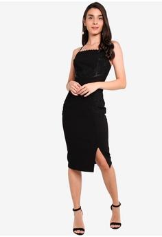 be9b91fbcb Lipsy Artwork Bodycon Cami Dress S$ 147.90. Sizes 6 8 10 12 14