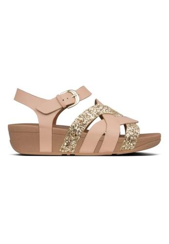 FitFlop beige Fitflop Erika Weave Back-Strap Sandal (BeechWood) 66DFFSH3649507GS_1