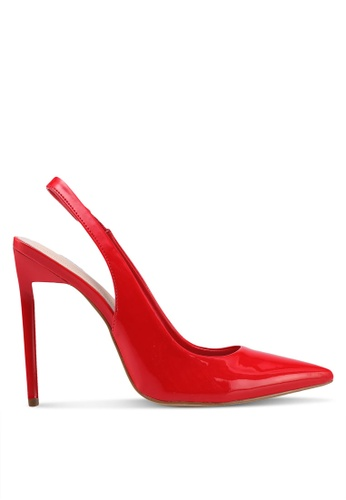 ALDO red Haughton Slingback Heels BBFC4SHF1A2EEAGS_1