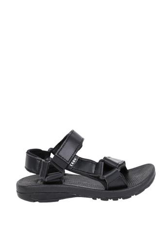 EKAN black Belzig Youth Sandals EK228SH0FILUSG_1