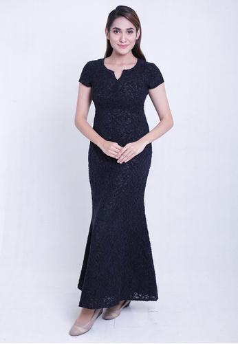 c9c2e72fc15c East India Company black Tanya Maxi Dress 97EECAA0F43FDEGS 1