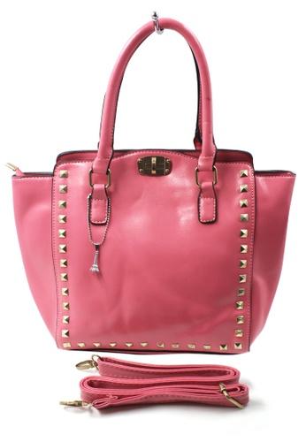 Vintage Paris multi Dion Leather Shoulder Bag with Sling VI567AC48FQHPH_1