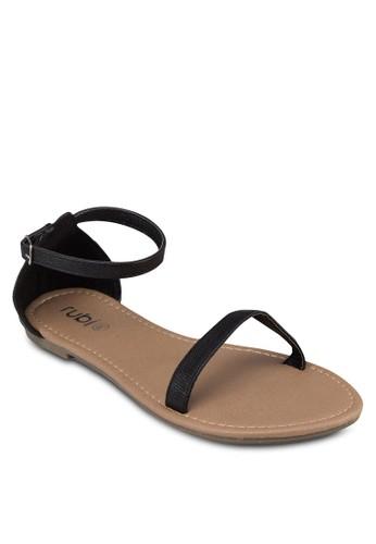 Chester 一字細帶繞踝zalora鞋涼鞋, 女鞋, 鞋