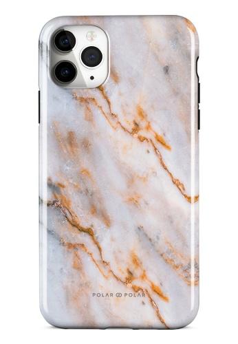 Polar Polar brown Coffee Cream Dual-Layer Tough Case Glossy For iPhone 11 Pro Max 84C49ACF68A0E6GS_1