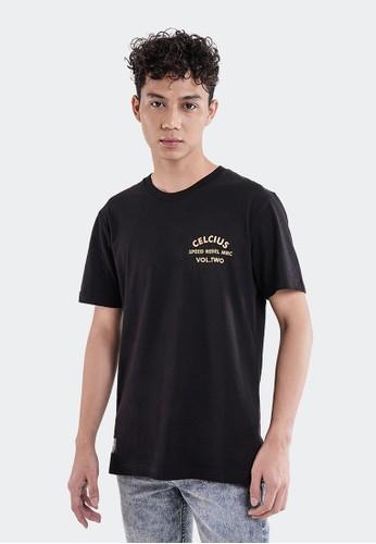 Celciusmen black Kaos Graphic Speed Rebel Celcius A07493C Free Gantungan Kunci 97390AA6D0E28BGS_1