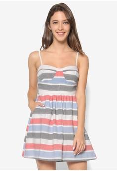 Mia Dress in Stripes