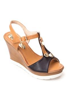Miranda Wedge Sandals