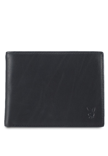 Playboy black Playboy Genuine Leather Wallet 4F0EBAC4B7A93FGS_1