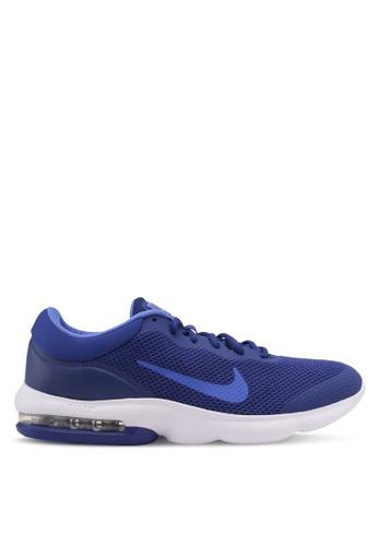 Nike blue Men's Nike Air Max Advantage Running Shoes NI126SH0STRDMY_1