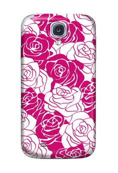 Roses Glossy Hard Case for Samsung Galaxy S4