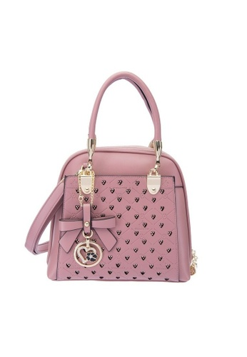 7bef21c7730 British Polo pink British Polo Limited Edition Elegant Bag (2 ways Usage)  7A67CAC923A76FGS_1