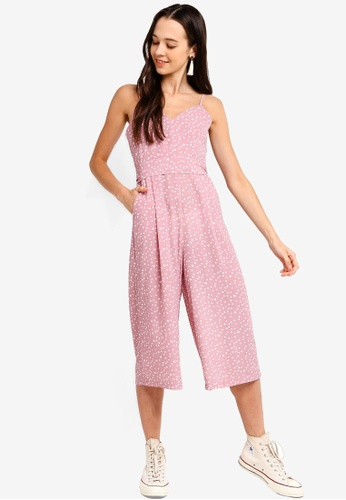 5ca27fc96df3 Buy Something Borrowed Cami Wrap Wide Leg Jumpsuit Online on ZALORA  Singapore