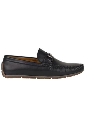 Tomaz black Tomaz C333 Front Buckled Loafers (Black) 4343FSH49E1CE0GS_1