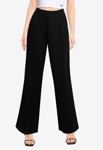 Hollister black Icon Wide Leg Pants 08A94AAC482C96GS_1