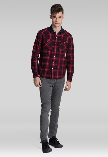 Levi's red Levi's® Classic Western Shirt 135A2AAD4009C0GS_1