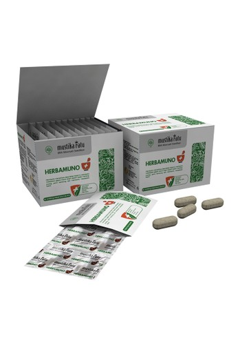 Mustika Ratu Herbamuno+ Immune Modulator 12 Strip (1 Box) 6566BES2CECFCBGS_1