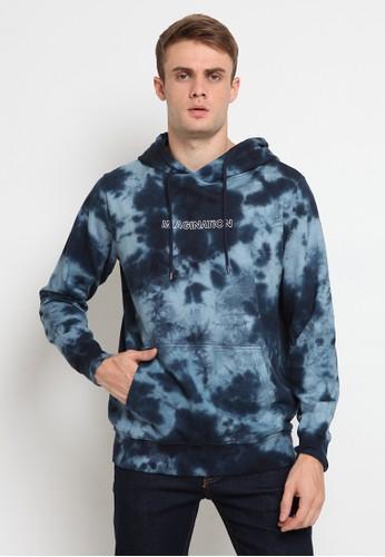TIRAJEANS navy Hoodie Jacket Tie Dye 8B555AACAB287CGS_1