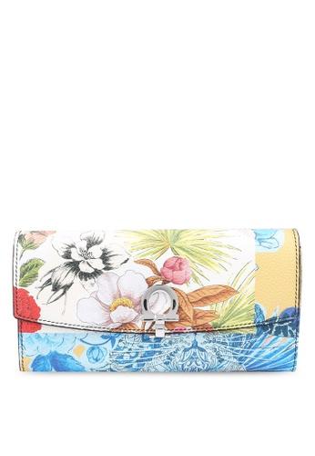 Ferragamo multi Silk Capsule Wallet (zt) D42D3AC2D0A4BDGS_1