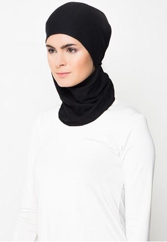 Diindri Hijab black VALUE PACKAGE Comfort Inner Ninja Ciput Black & White 7F179AA6639846GS_1