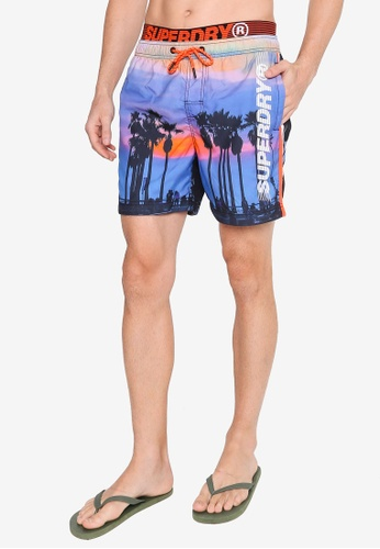 Superdry 藍色 State Volley Swim Shorts EF740USA00C01CGS_1