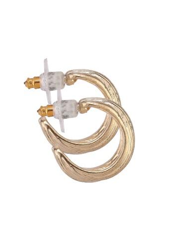 Mango gold Metallic Hoop Earrings 2720BAC5F7A61CGS_1