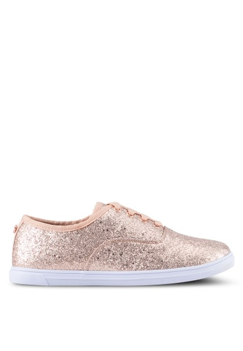 Velvet gold Glitter Sneakers E1D66SH2D0362AGS_1