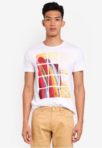 OVS white Short Sleeves Shirt A9211AAB92C1B9GS_1