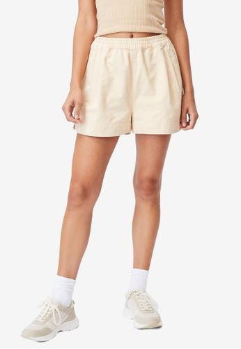Cotton On beige Eve Twill Shorts C10C3AA39E2FB4GS_1