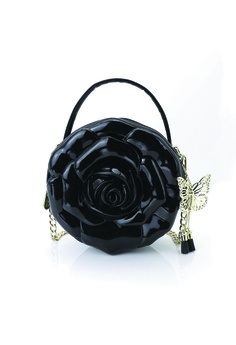 854d29c8fe Adamo 3D Bag Original black Rose of Anatolia Sling Bag (Double zipper