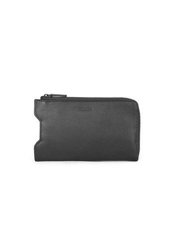 Picard grey Picard Jace Nappa Mobile Pouch in Grey C02FFAC01DF542GS_1