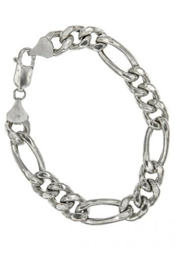 Silverworks silver Figarro Bracelet SI696AC57AFYPH_1