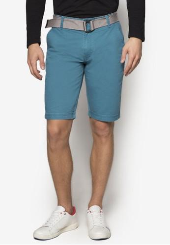 腰帶休閒esprit causeway bay短褲, 服飾, 服飾