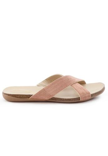 Shu Talk gold Elegant Nappa Leather Sandals SH397SH0FPJ7SG_1