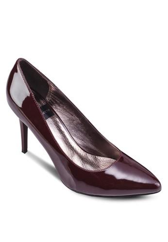zalora taiwan 時尚購物網簡約尖頭高跟鞋, 女鞋, 鞋