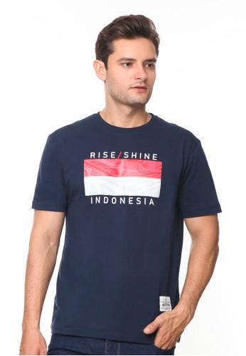 Endorse navy Endorse Tshirt Syn Rise/Shine Navy Blue - END-RH001 26037AAE1996F2GS_1