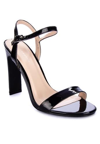 Primadonna black Strappy Heels C46D3SHAA37D5DGS_1
