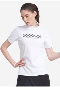 d0d6c6bf9d4fd Fila white Training Short Sleeve T-shirt F3595AA680893AGS 1