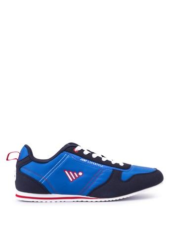 Jump blue Carver Lace Up Sneakers JU701SH51DGMPH_1