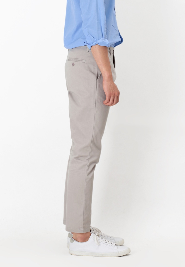 A Grey Slim Arcade Chinos for Fit Perry Light in Grey Light 8TYdxXWwq