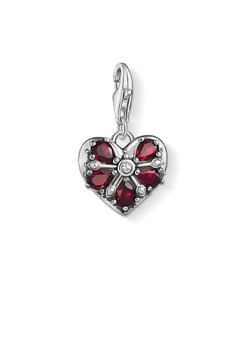 "THOMAS SABO silver Charm pendant ""Vintage heart "" TH376AC0GMT0SG_1"