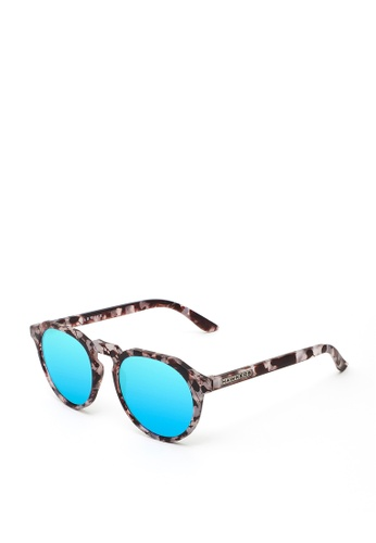 Hawkers HAWKERS Carey Grey Clear Blue WARWICK Sunnies 4BC0BGL3EBAD7DGS_1