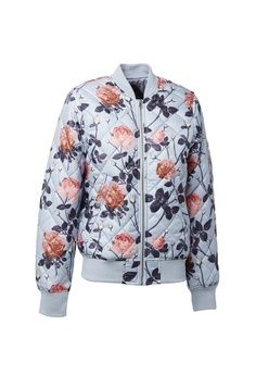 Universal Traveller blue Ladies Floral Print Quilted Padded Jacket  UN858AA0S98NMY 1 3902df8d0