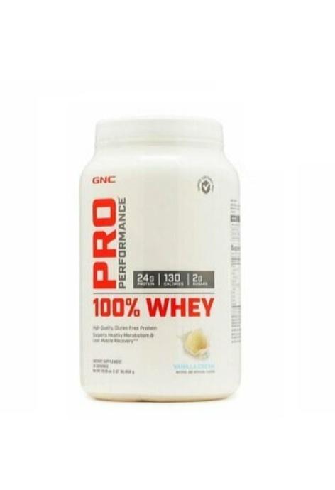 GNC GNC - Pro Performance 100% (VANILLA) 乳清蛋白粉 850g(平行進口)