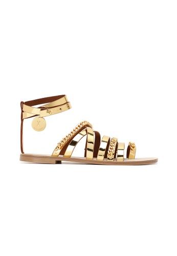 JOSEPH&STACEY gold Glam Sandal Zero MIRROR GOLD JO290SH0GMNESG_1