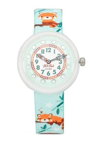 Flik Flak green Pandamazing Watch 50763KC98D1656GS_1