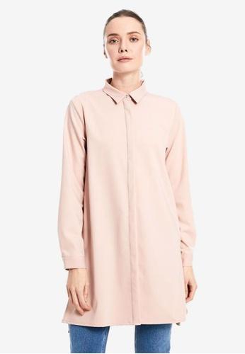 LC Waikiki pink Poplin Shirt 74061AA470F9E8GS_1
